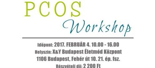 PCOS workshop 2017 február 4.-én